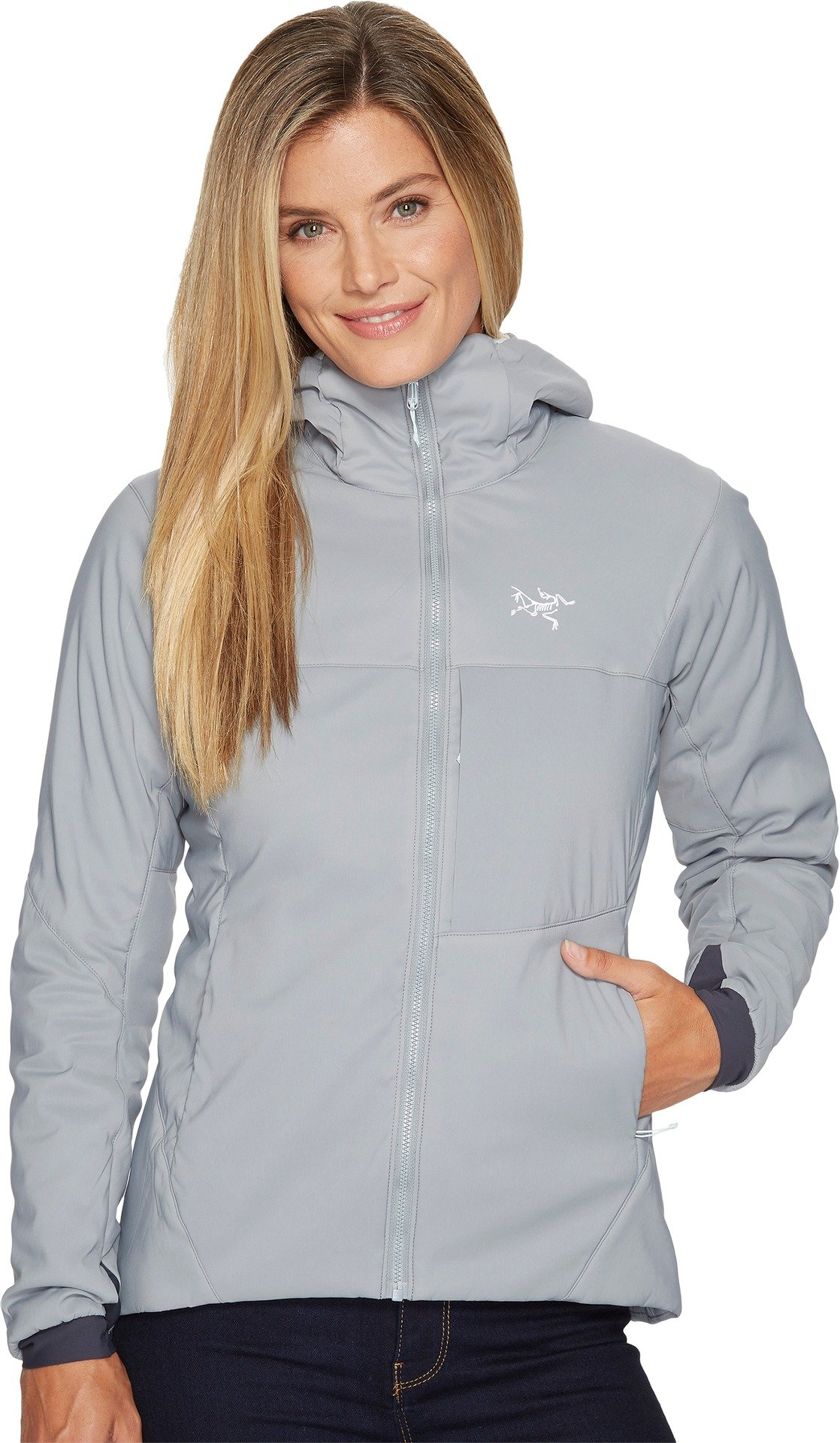Arc'teryx Women's Proton LT Hoodie Smoke Sweatshirt by Arc'teryx
