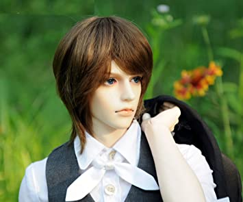 Amazon.com: Zgmd 1/3 BJD Doll Dolls Handsome Boy Free Eyes+Face ...