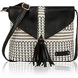 KLEIO Designer Jacquard Crossbody Sling Hand Bag For Women/Girls
