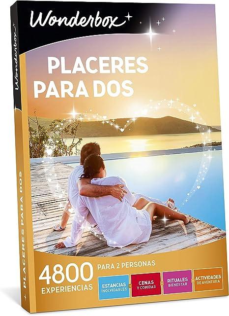 WONDERBOX Caja Regalo - PLACERES para Dos - 4.800 experiencias ...