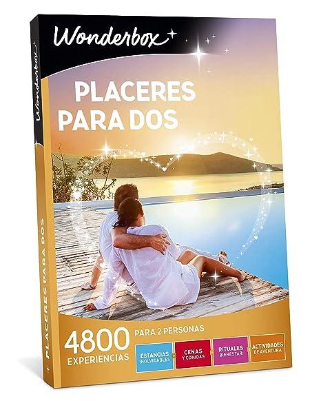 WONDERBOX Caja Regalo -PLACERES para Dos- 4.800 experiencias ...