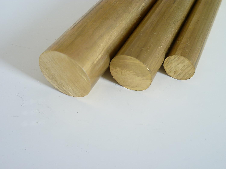 10/cm 100/mm + 0//- 5/mm B/&T MS 58 Barres rondes en laiton /Ø 25/mm Longueur d/'env