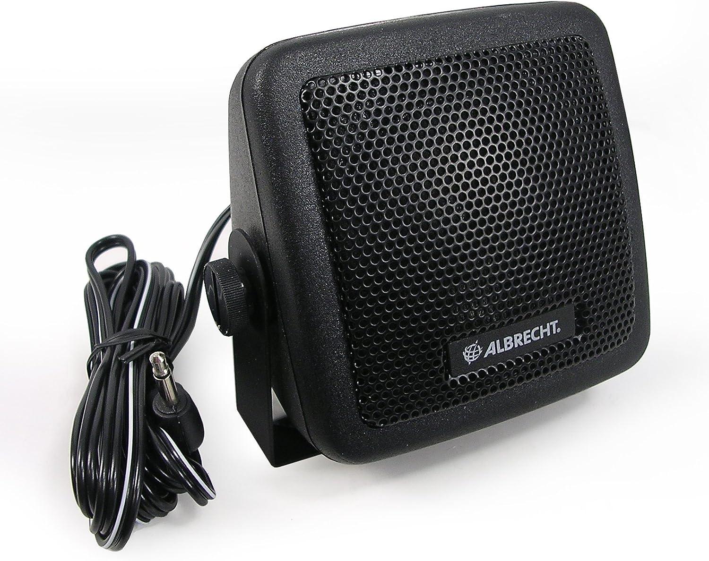 Albrecht Cb 150 Mono Portable Speaker 3w Schwarz Tragbare Lautsprecher 1 0 Kanäle 3 W 350 5000 Hz 8 Ohm Verkabelt Kabellos 2 M Heimkino Tv Video