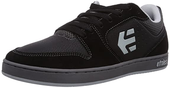Amazoncom Etnies Mens Verano Skateboard Shoe BlackGrey 12 M US Shoes