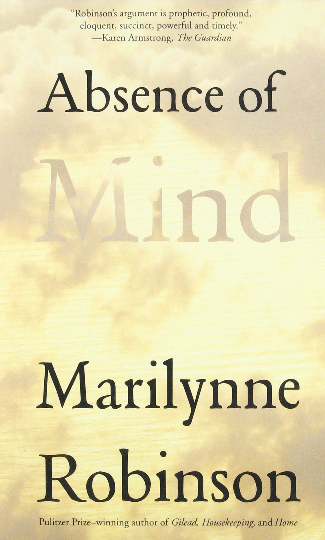 Absence of Mind: The Dispelling of Inwardness from the