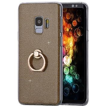Amcor Love - Carcasa Samsung Galaxy S9 con Anillo de Soporte ...
