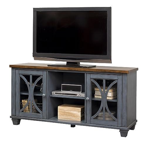 Martin Furniture 60 Console, Rich Denim Blue