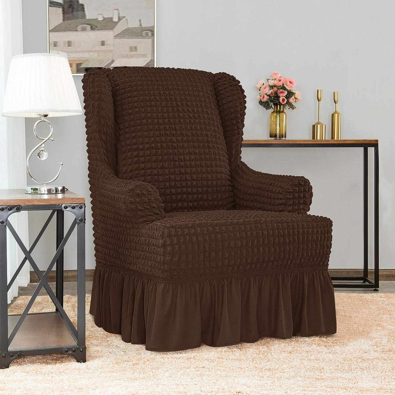 Amazon.com: Chun Yi - Funda universal para sillón con falda ...