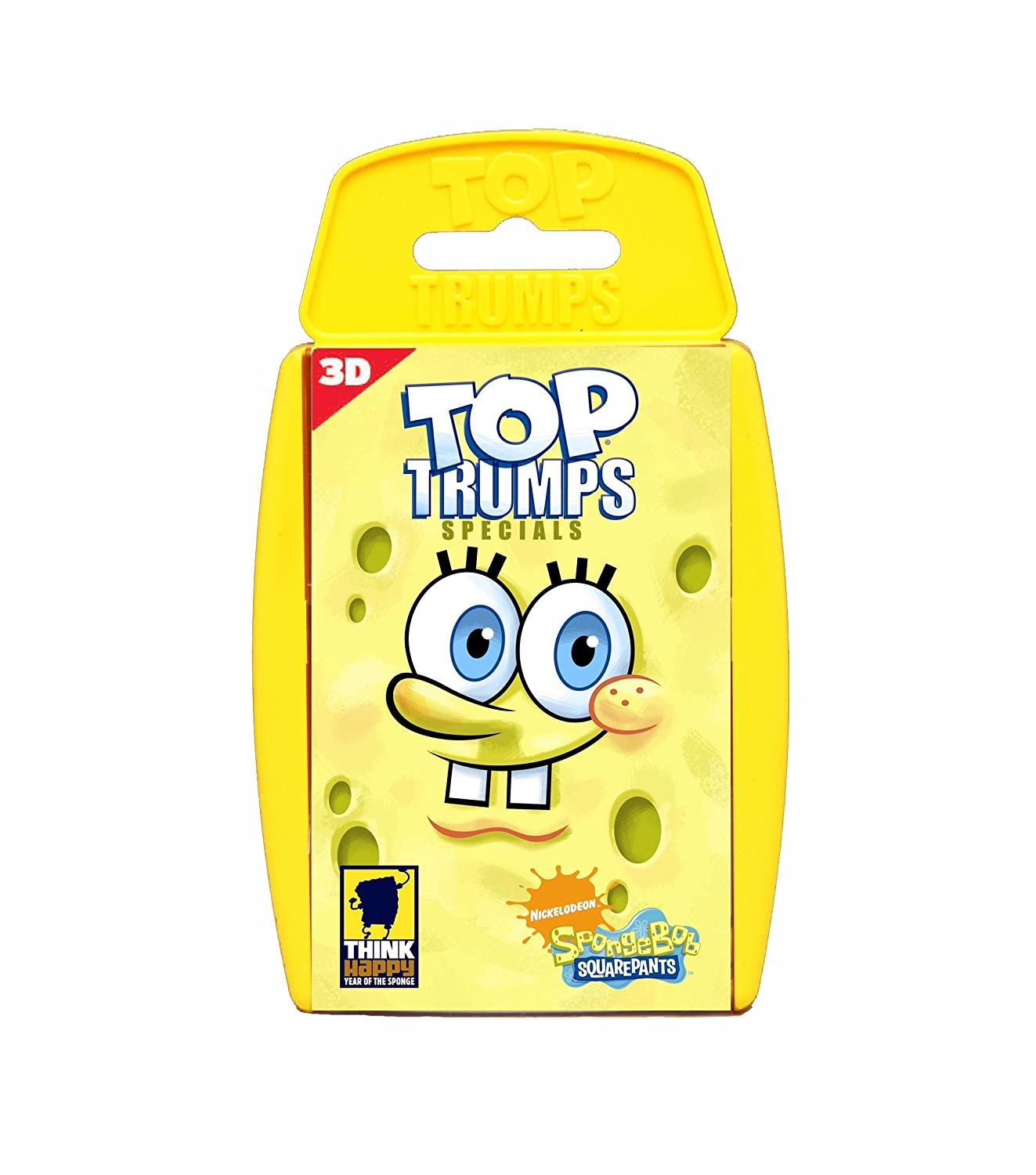 Winning Moves Top Trumps Specials 3D SpongeBob SquarePants 13208 Card Games Games_and_Puzzles toptrumps;3D;spongebob;cardgames;toys;