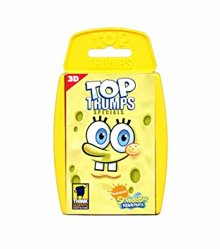 Winning Moves Top Trumps 3D - Especial Bob Esponja ...
