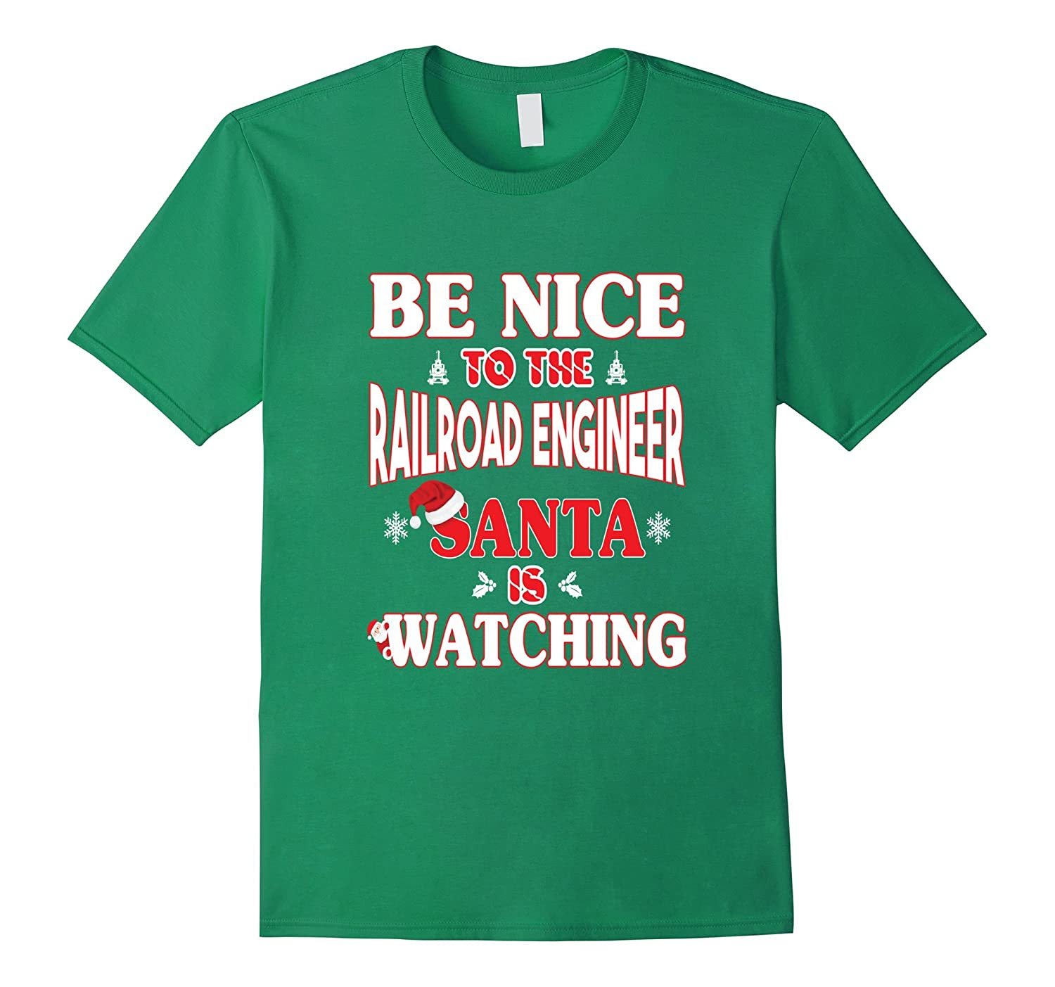 Railroad Engineer Shirt - Funny Gifts For Christmas-ANZ