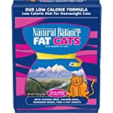 Natural Balance Fat Cats Low Calorie Dry Cat Food, Chicken Meal, Salmon Meal, Garbanzo Beans, Peas & Oat Groats, 15…