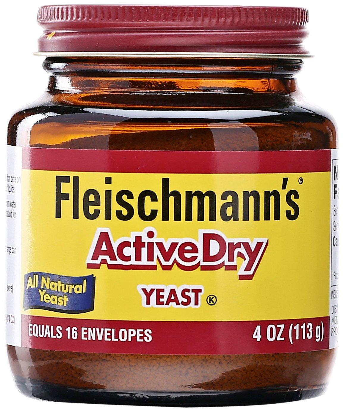 Fleischmann's, Active Dry Yeast, 4 oz