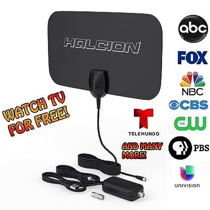 TV Antenna 1080p Digital HDTV  Has 100 Mile Radius! Free TV Channels!