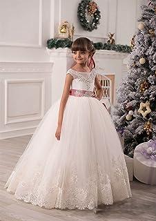 VIPbridal Los niños lindos de las niñas florecen el vestido de la primera comunión de los