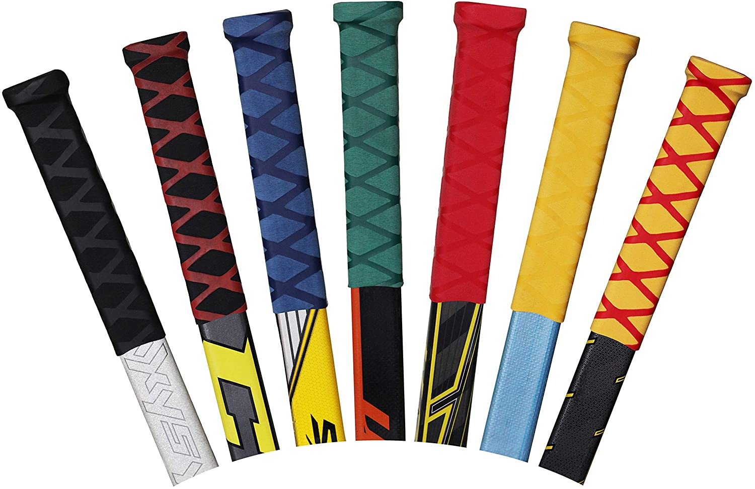 Advanced Hockey Stick Grip - Grip for ice Hockey Sticks, one Size for Youth and Adult Stick, Great Alternative to Hockey Tape (Black) : Sports & Outdoors
