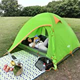 Wantdo Lightweight Backpacking Tent, 2-3 Person