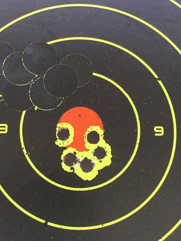 Paquete de 50 8/″ Pulgadas 20cm Rifle Aire /& Pistola Salpicadura Objetivos En Tu Monumentos Reactivas Tiro Objetivos