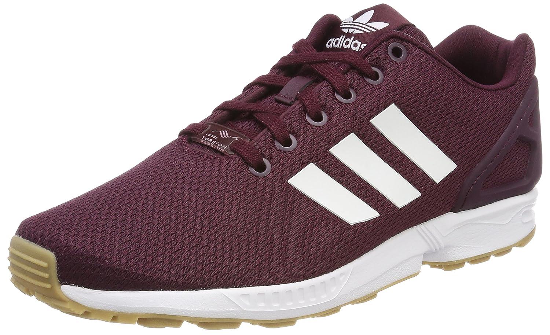 Adidas ZX Flux, Zapatillas de Running para Hombre 46 EU Rojo (Granat / Ftwbla / Gum3 000)