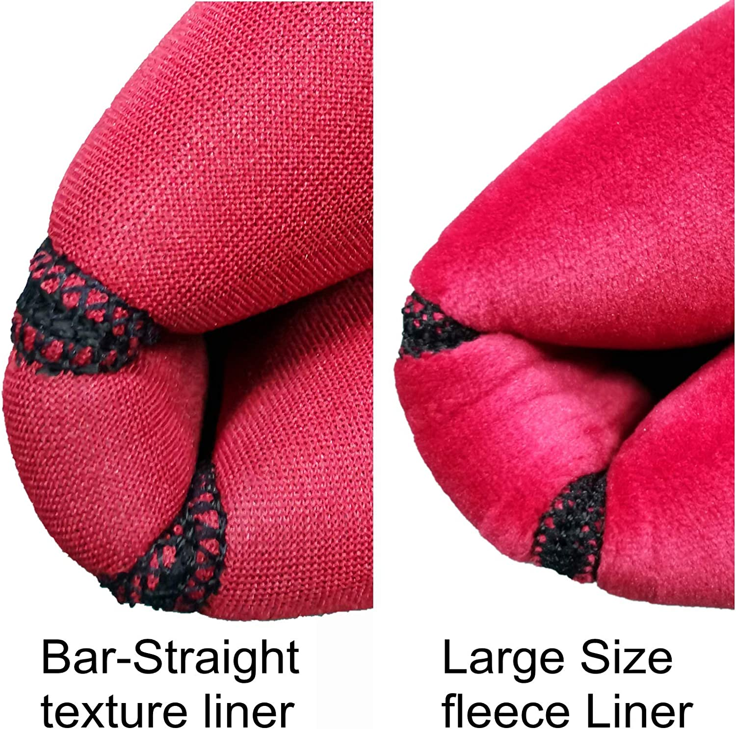 Large Size ODIER Bike Handlebar Mitts Fleece Liner Bicycle Pogies Mittens for Winter Thermal Cover Keep Hands Warm 1 Pair