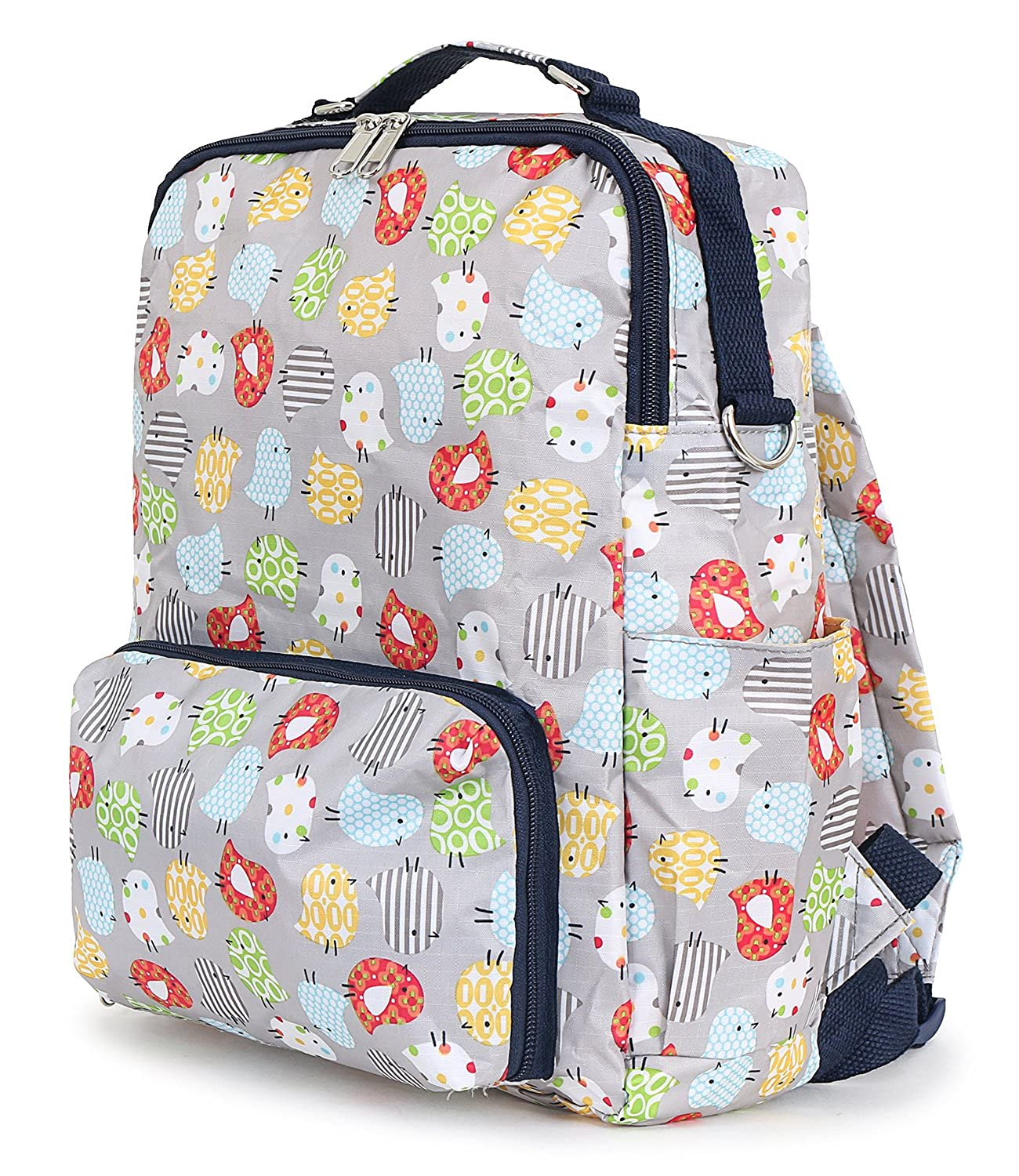 23a433ea5f Amazon.com  ililily Pattern Lightweight Folded Backpack Small Casual Day  Pack