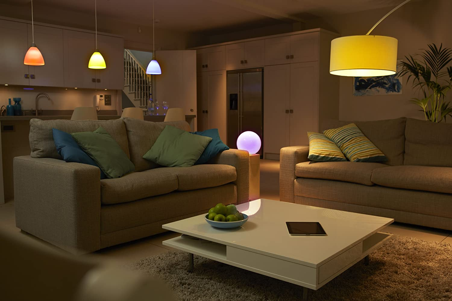 Hue Lampen Philips : Philips hue led personal wireless lighting eek a 3 x 9w a60