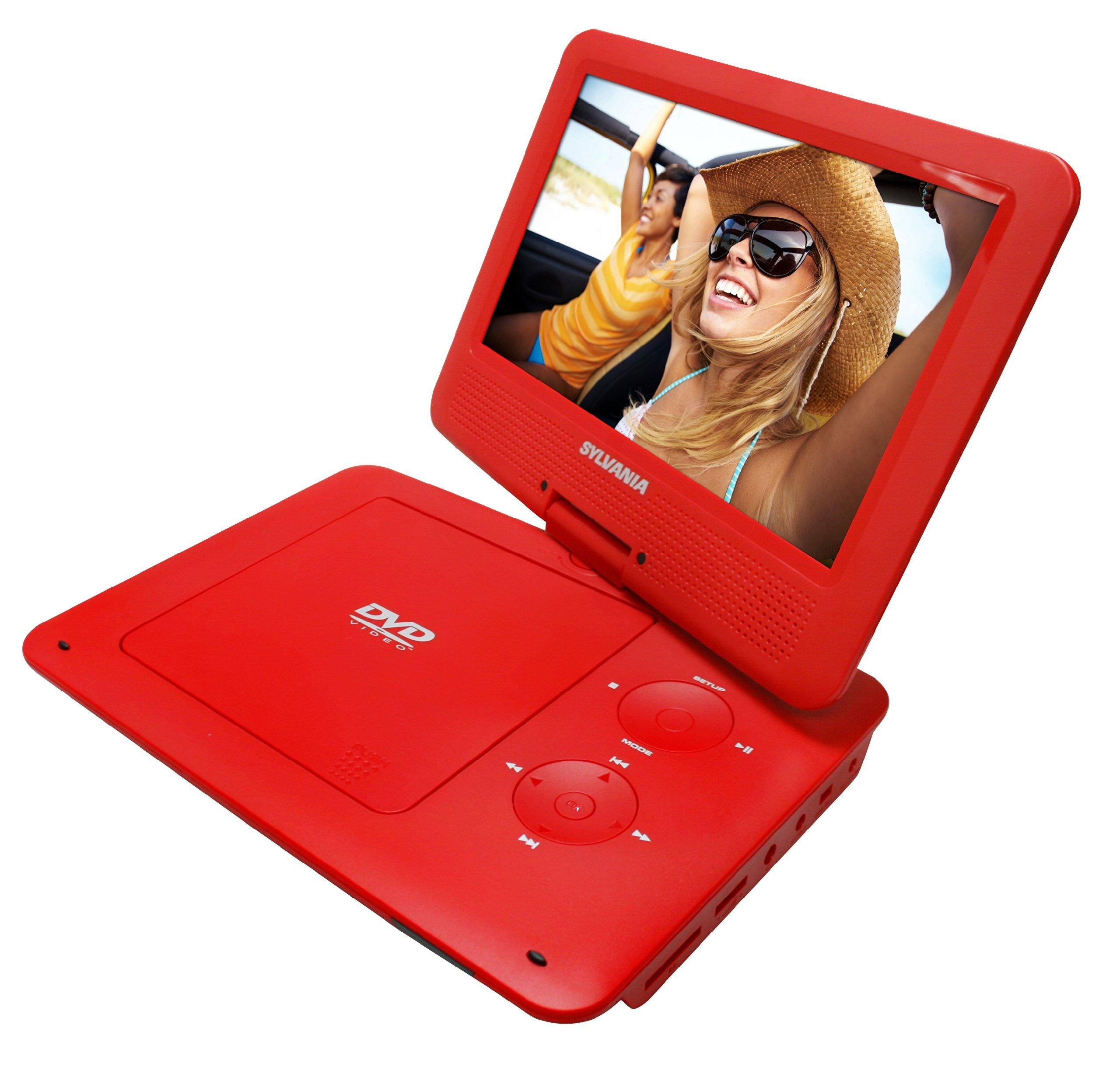 Pantalla / Reproductor de CD MP3 9 pulgadas giratoria portátil de DVD / con 5...