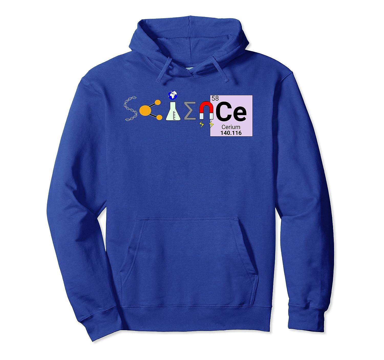 Science Symbols Hoodie-fa