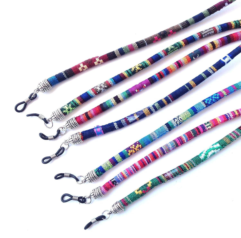 3 pcs cord/ón gafas,estampado etnico, HC Enterprise-N301