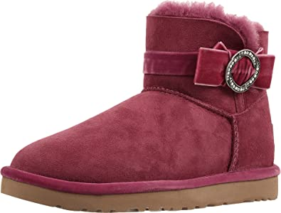 Factory Outlet Womens Casual Shoes - UGG Karlie Brooch Bougainvillea