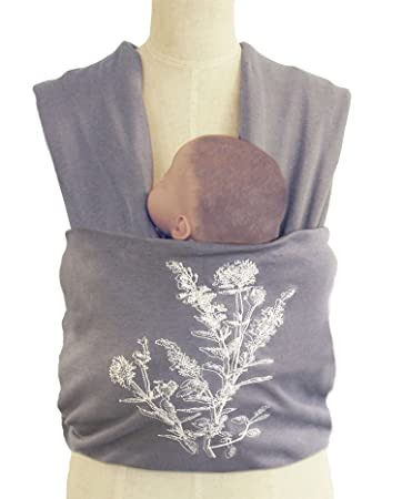 Amazon Com Whisper Baby Infant Wrap Carrier By The Peanut Shell