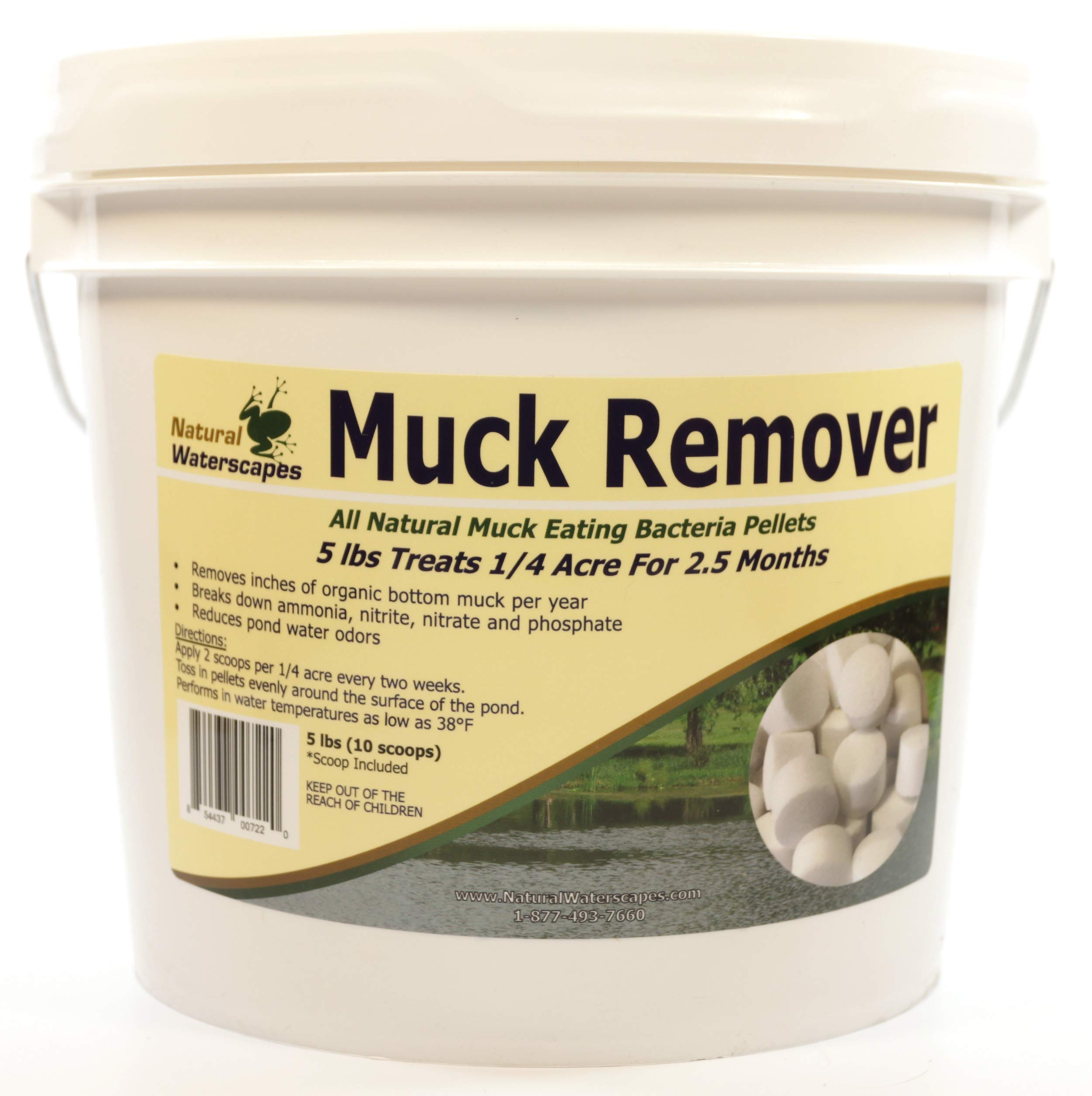 Natural Waterscapes Muck Remover Pellets - 5 lbs by Natural Waterscapes