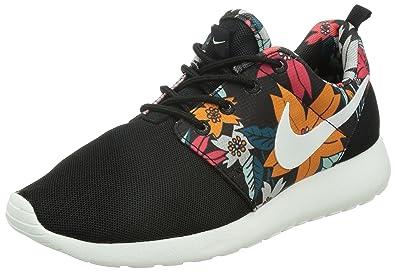 new style 9546b 99462 Nike Womens WMNS Roshe One Print, Hawaii Aloha Floral Pack-BlackSAIL,