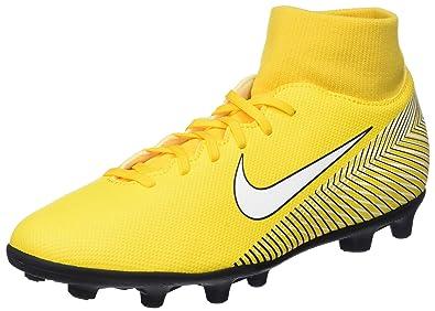Nike Superfly 6 Club NJR FG/MG, Zapatillas de Fútbol Unisex Adulto, (Amarillo/White/Black 710), 43 EU: Amazon.es: Zapatos y complementos