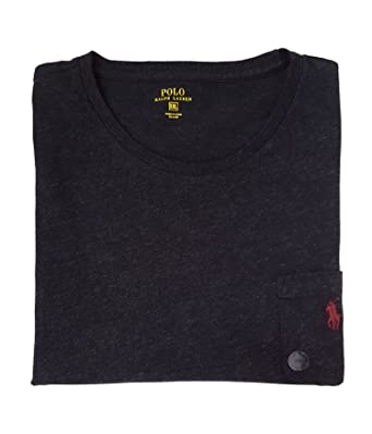 ec05e3380 Polo Ralph Lauren Men s Cotton Jersey Pocket Crewneck T-Shirt