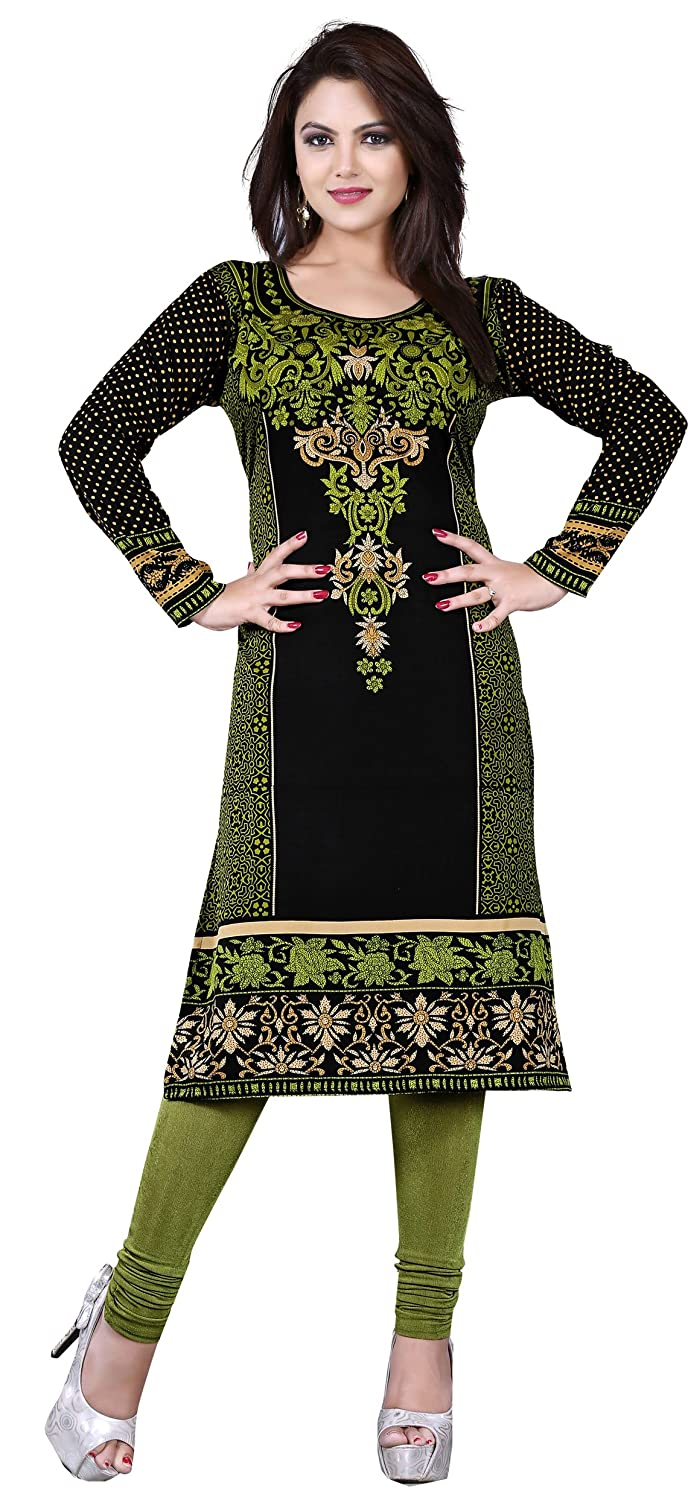 Maple Clothing Tunic Top Kurti Printed Womens Blouse Indian Clothes S) Event113C-s34