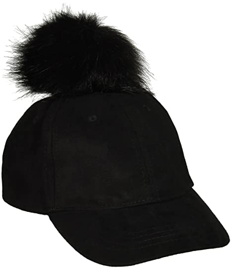 d7e70f56599654 Amazon.com: The Children's Place Girls' Toddler Pom Hat, Black 87318 ...