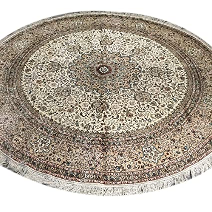 Amazoncom Yilong 8 Feet Round Area Rugs For Home Vintage Hand