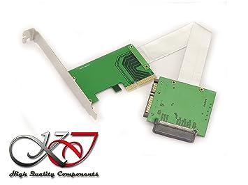 Kalea-Informatique - Convertidor adaptador U2 (68pin SFF-8639) a ...