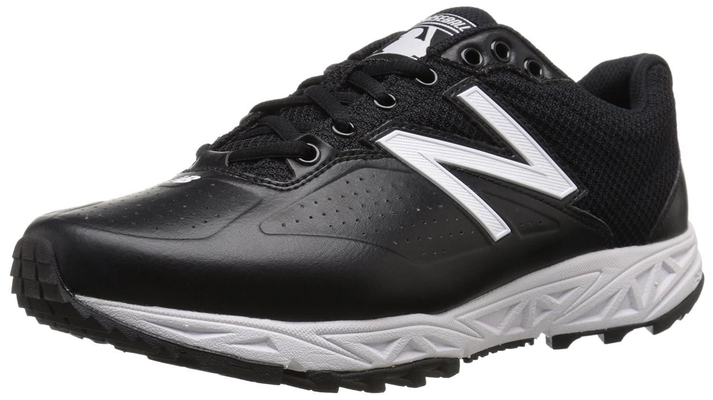 New Balance メンズ B00VADBW9O 15 4E US|ブラック/ホワイト ブラック/ホワイト 15 4E US