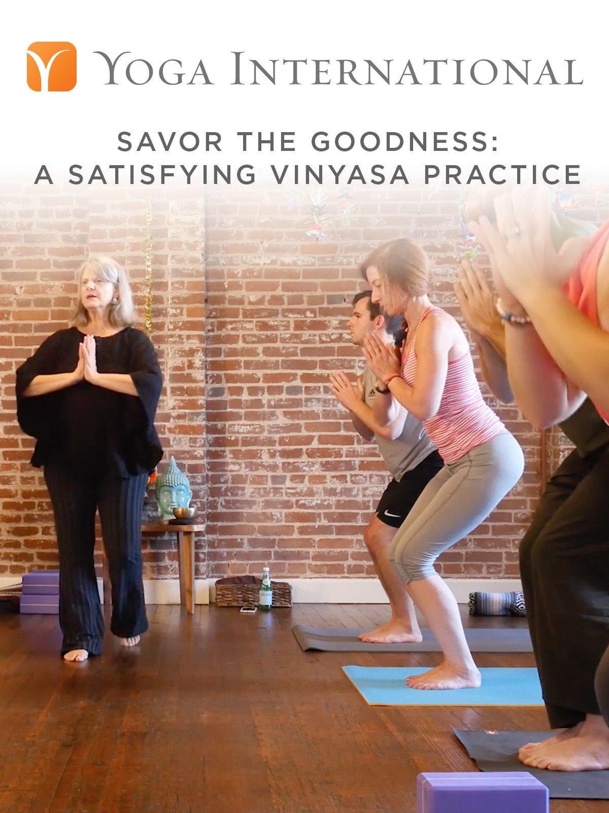 Amazon.com: Savor the Goodness: A Satisfying Vinyasa ...