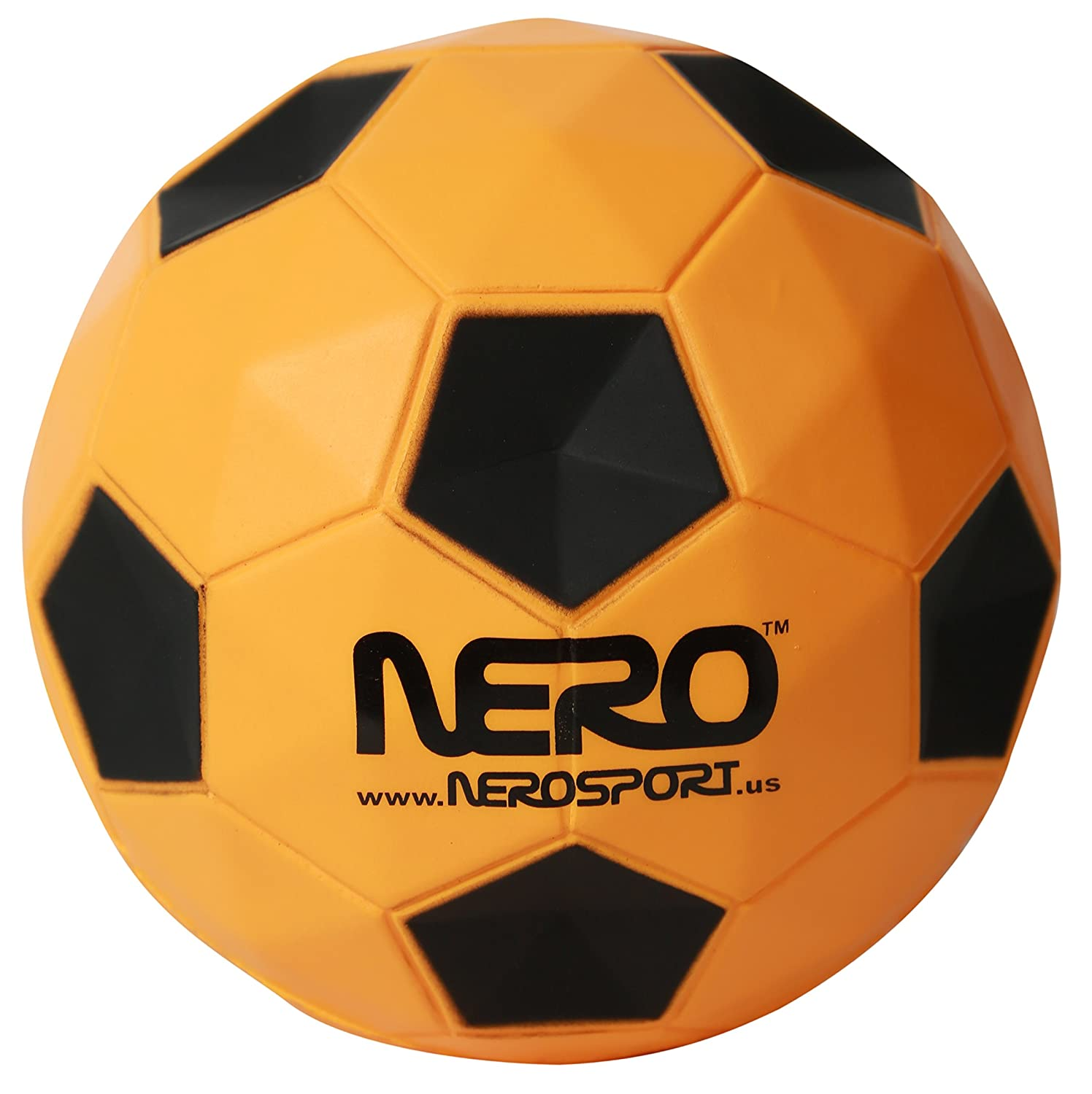 (orange) - Nero NS-R12 High Bounce Ball 12cm