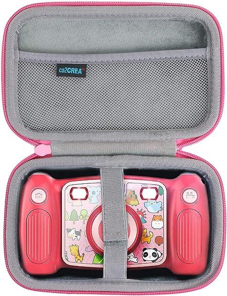co2CREA Estuche de viaje de almacenamiento para cámara digital VTech 507153 Kidizoom/Victure Kids, color rosa (sólo la funda): Amazon.es: Electrónica