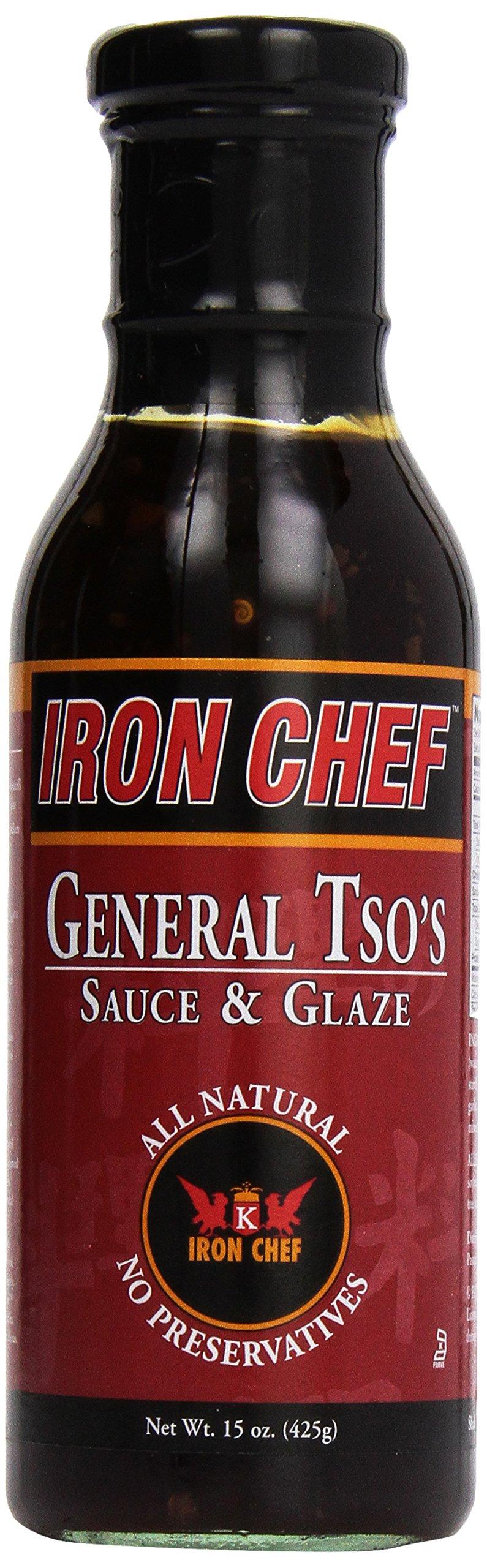 Iron Chef General Tso's Sauce, 15 oz