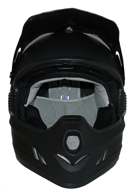 Gr/ö/ße L Protectwear H610-MS-L Crosshelm Endurohelm Einfarbig Schwarz-Matt