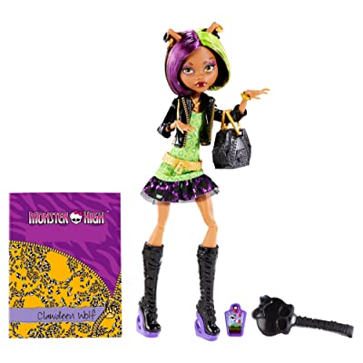 Monster High New Scaremester Clawdeen Wolf Fashion Puppe