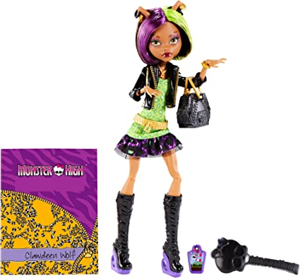 Amazon Com Monster High New Scaremester Clawdeen Wolf Fashion Doll Toys Games