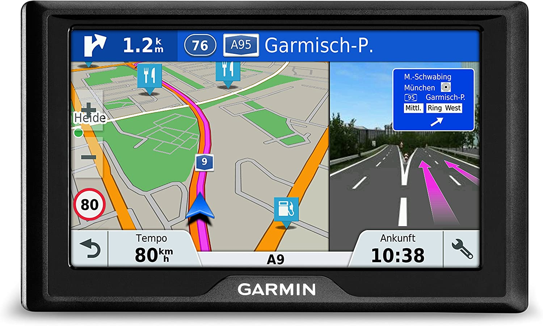 Garmin Drive 51 Lmt S Ce Navigationsgerät Lebenslang Kartenupdates Verkehrsinfos Sicherheitspaket 5 Zoll 12 7cm Touchdisplay Generalüberholt Navigation