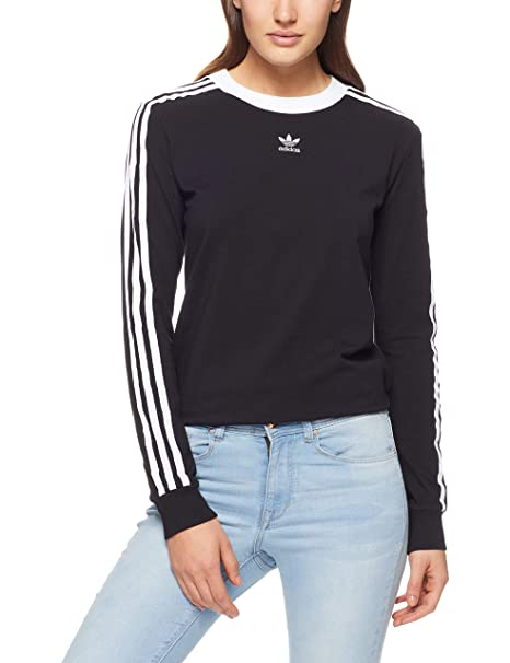 adidas 3 Streifen Sweatshirt | Adidas woman | Sudaderas