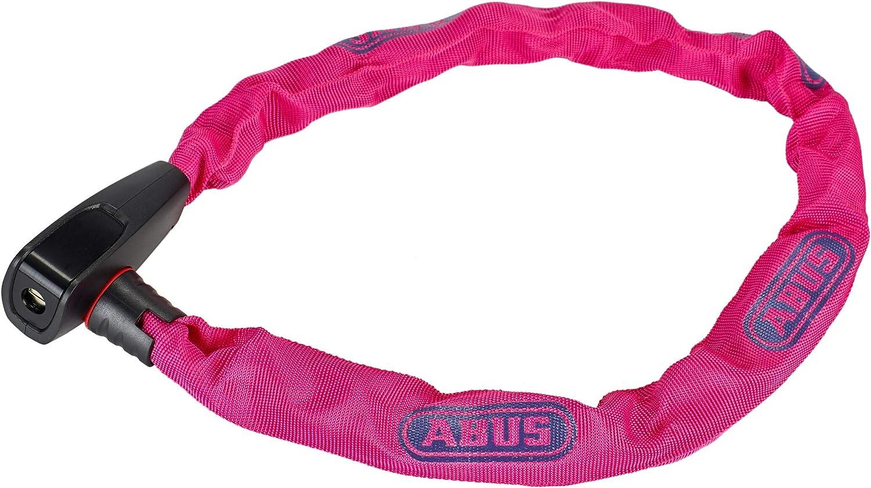 ABUS Catena 6806K//75 6-75 cm color rosa ne/ón 82512 Candado para bicicleta con revestimiento de pl/ástico